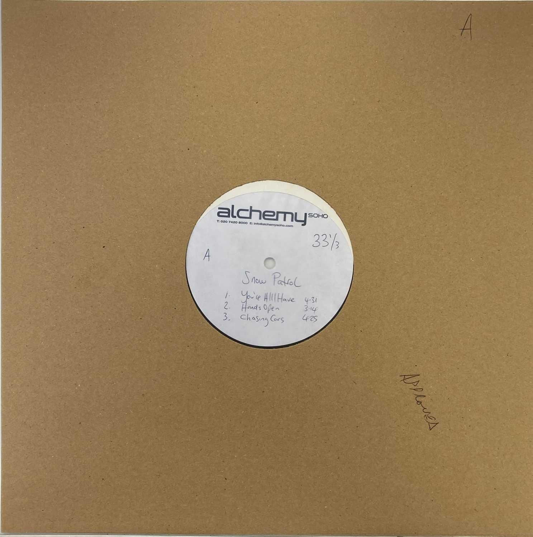 Lot 40 - SNOW PATROL - EYES OPEN LP - SAMPLER ACETATE RECORDING