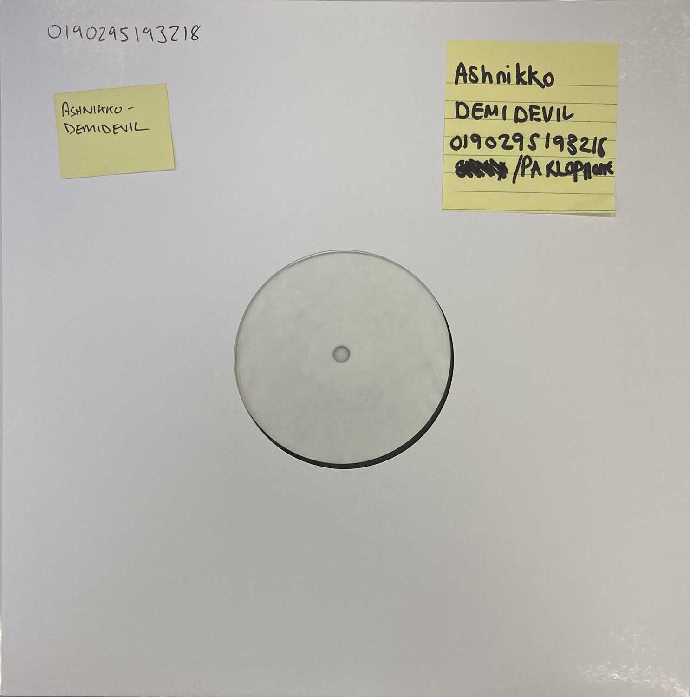 Lot 41 - ASHNIKKO - DEMIDEVIL LP (2021 WHITE LABEL TEST PRESSING)