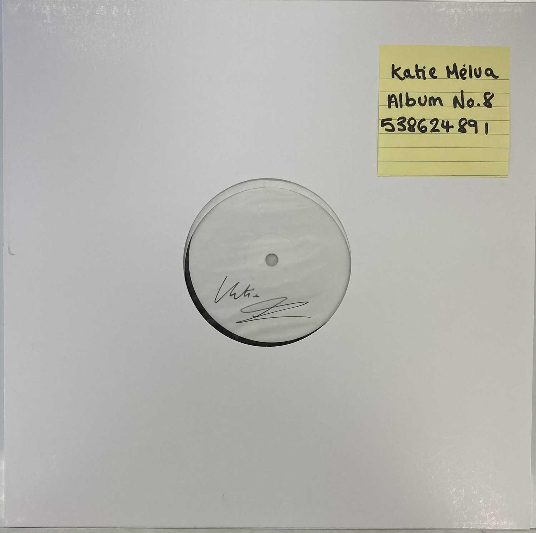 Lot 43 - KATIE MELUA - ALBUM NO. 8 LP (2020 WHITE LABEL TEST PRESSING - SIGNED)