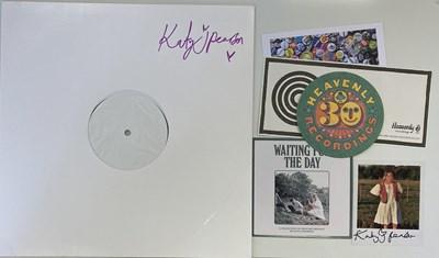 Lot 52 - KATY J PEARSON - RETURN LP (SIGNED 2020 WHITE LABEL TEST PRESSING)