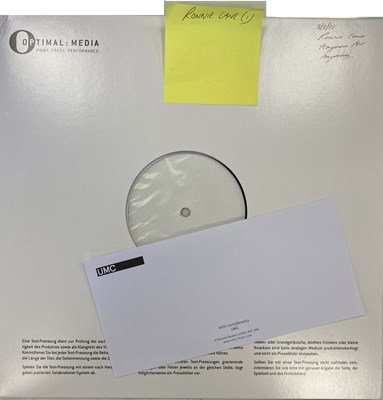 Lot 76 - RONNIE LANE - ANYMORE FOR ANYONE LP (2021 WHITE LABEL TEST PRESSING)