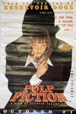 Lot 23 - PULP FICTION ORIGINAL POSTERS.