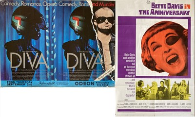 Lot 32 - ASSORTED FILM POSTERS - FANTASIA / SUBWAY / THE ANNIVERSARY
