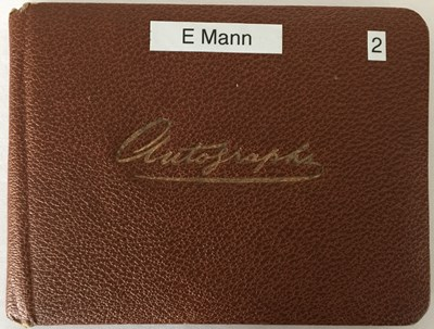 Lot 76 - AUTOGRAPH BOOK WITH STARS OF STAGE AND SCREEN - RICHARD ATTENBOROUGH / FRANKIE HOWERD AND MORE.