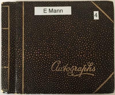 Lot 78 - AUTOGRAPH BOOK WITH STARS OF STAGE AND SCREEN.