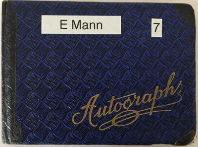 Lot 84 - AUTOGRAPH BOOK WITH STARS OF STAGE AND SCREEN - PETER SELLERS / RONNIE SCOTT.