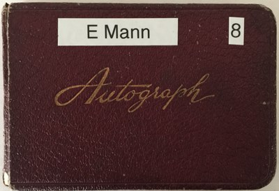 Lot 85 - AUTOGRAPH BOOK WITH STARS OF STAGE AND SCREEN - INGRID BERGMAN / ELLA FITZGERALD ETC.
