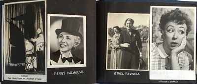 Lot 95 - AUTOGRAPHED PHOTOGRAPHS - INC UNSEEN PRIVATE PHOTO OF JULIE ANDREWS.