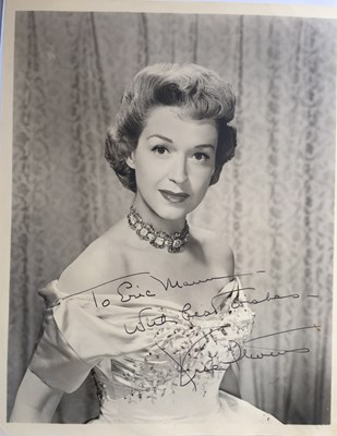 Lot 113 - SIGNED PHOTOS AND LETTERS - STARS OF THE 1950S.