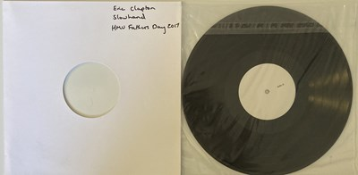 Lot 80 - ERIC CLAPTON - SLOWHAND (HMV FATHER'S DAY 2017 WHITE LABEL TEST PRESSING).