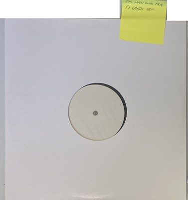 Lot 82 - THE MAN WHO FELL TO EARTH SOUNDTRACK WHITE LABEL TEST PRESSING