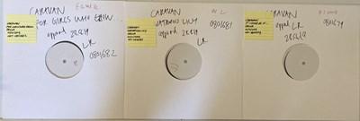 Lot 83 - CARAVAN - WHITE LABEL TEST PRESSINGS.