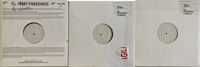 Lot 93 - THE WHO - QUADROPHENIA AND WHO BY NUMBERS WHITE LABEL TEST PRESSINGS.