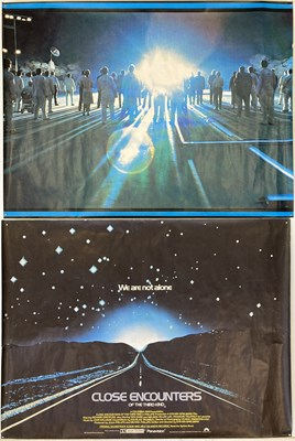 Lot 156 - CLOSE ENCOUNTERS OF THE THIRD KIND FILM POSTER.