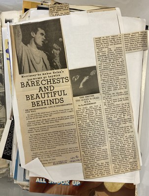 Lot 512 - SMITHS PRESS CUTTINGS ARCHIVE