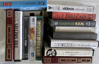Lot 40 - PUNK / INDIE AND NEW WAVE VHS.