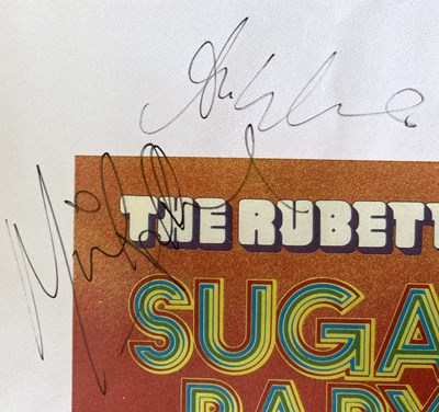 Lot 343 - 1970S GROUPS SIGNED ITEMS.