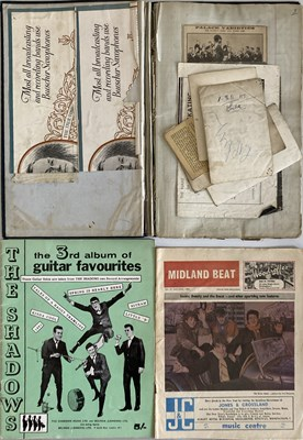 Lot 42 - 1920-1940S DANCE BAND ARCHIVE - POSTCARDS AND MORE.