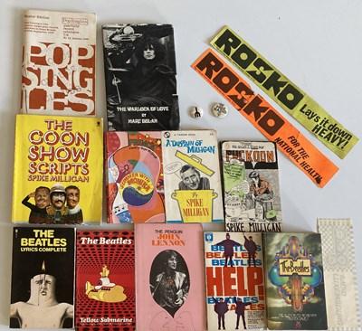 Lot 45 - MUSIC BOOKS AND MEMORABILIA - MARC BOLAN WARLOCK OF LOVE / RADIO LUXEMBOURG.