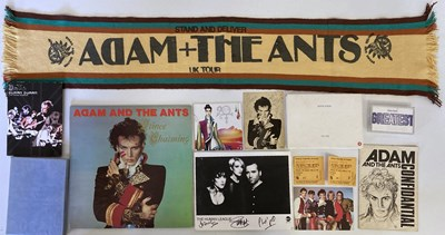 Lot 57 - ADAM AND THE ANTS / HUMAN LEAGUE AND MORE.